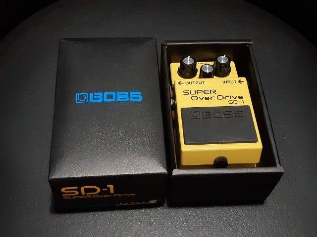 Pedal overdrive SD1 BOSS