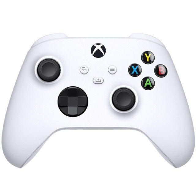 Controle Sem Fio Microsoft Robot White 1914 para Xbox S e X - Branco - Foto 4