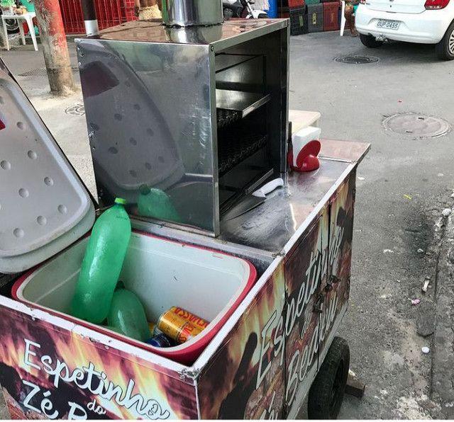 Carro de churrasco - Foto 3