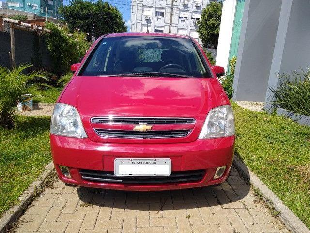 Meriva Premium Vermelha Impecável 2º Dono - Foto 5