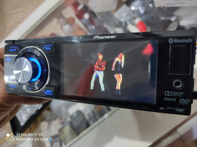 Dvd Pioneer tela 3.5 completo blutof  - Foto 2
