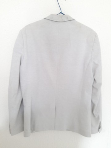 Blazer Branco da Zara Masculino - Foto 3