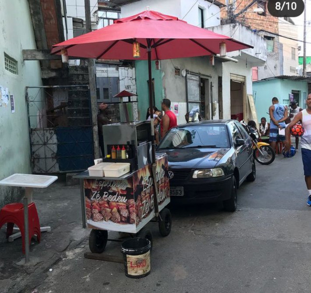 Carro de churrasco - Foto 4
