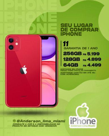 iPhone 11 Lacrado - Aceitamos seu iPhone usado de entrada