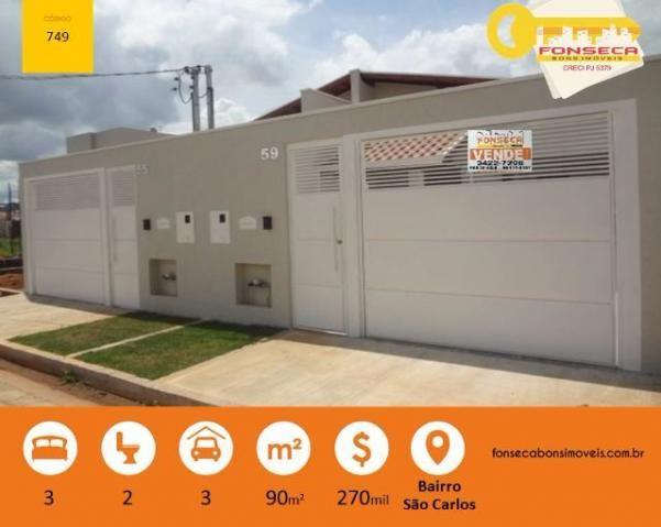 Ótima Casa com 03 dormitórios, em Pouso Alegre