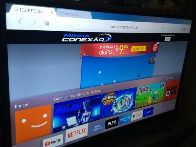 TV SAMSUNG 4K 50 polegadas