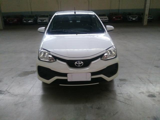 Toyota Etios 1.3 X ano 2018