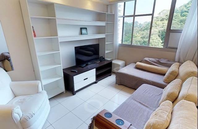 Botafogo, 3 quartos com dependências, condomínio fechado com infraestrutura completa