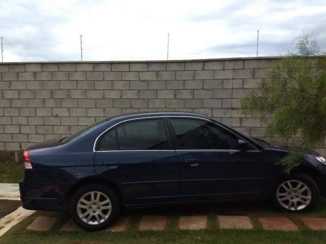 Honda Civic LX 2005/2006 Automático   100Mil Km Completo