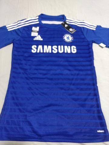 Camisa Adidas Chelsea Temporada 2014 15 Tamanho M Original Adizero ... a5b65c119acfa
