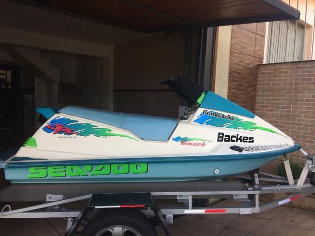 Jet ski Seadoo 580cc SPX 1993 - Foto 2