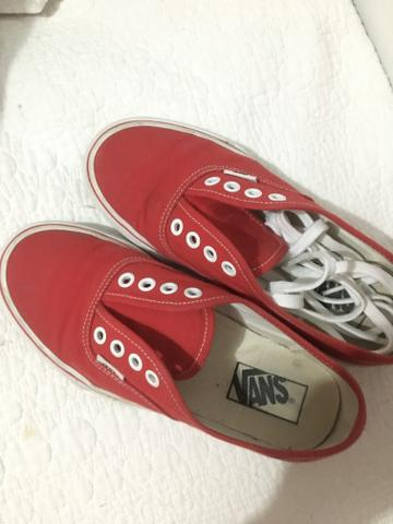 6537488db07 Tênis vans authentic vermelho - Roupas e calçados - Campinas