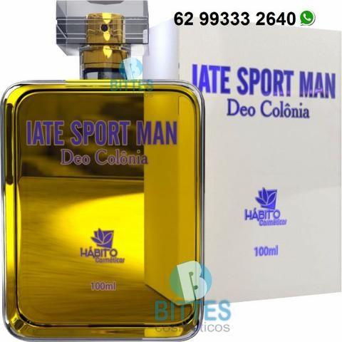 Perfume Masculino Hábito Cosméticos Colônia Iate Sport Man 100 ml