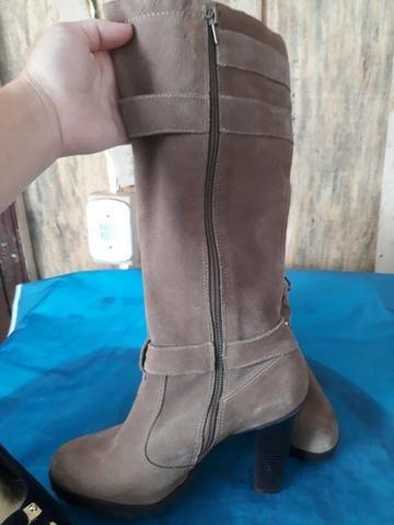 2cc8df1da Sapato dourado, salto 12,5 cm - tam 36 - Roupas e calçados - São ...