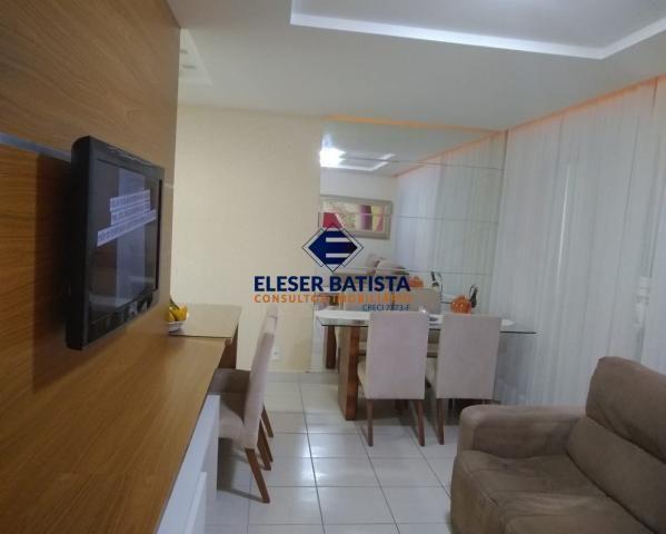 Apartamento à venda com 3 dormitórios em Residencial praças sauípe, Serra cod:AP00169