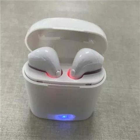 Fone Ouvido Bluetooth I7s 4.2 Par Tws Sem Fio Case Base - Foto 2
