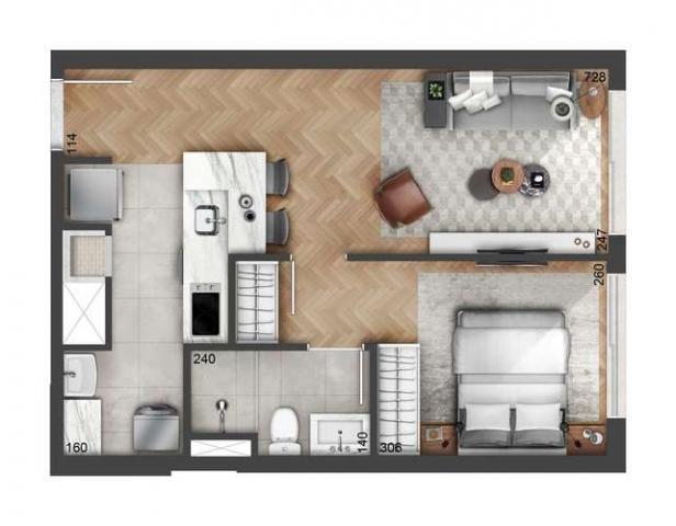 Float residences - 43 a 99m² - bairro petrópolis - porto alegre, rs - id2182 - Foto 19