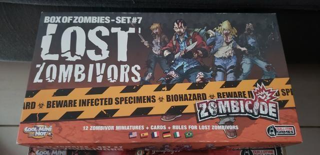 Zombicide + 5 expansões - Foto 2