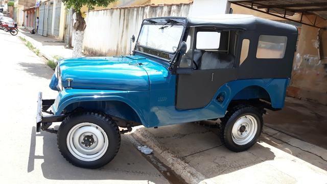 Jeep Willys 1957, há mais de 25 anos guardado duvido outro igual - Foto 4