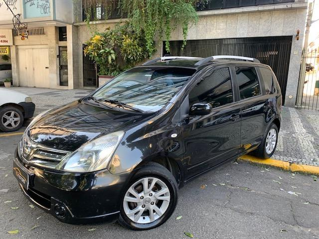 Nissan Livina S Automático Multimídia com Câmera de Ré Couro Rodas Impecável 2014 - Foto 4
