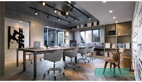 Flow residencial no Parque Una.  Unidade studio com 34 m² em edifício moderno. - Foto 5