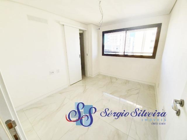 Apartamento na Aldeota alto padrão, 1 por andar e lazer completo Abelardo Pompeu - Foto 11
