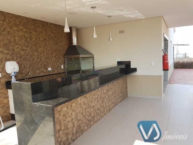 Apartamento mobiliado com 2 quartos no Cond. Lagoa Dourada - Jd. Acquaville, Londrina/PR - Foto 16