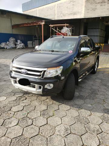 Ford Ranger Limited 2014 - Blindado - Diesel - Aceita troca
