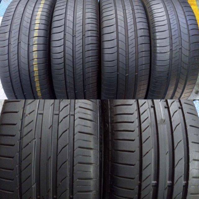 ?pneus semi novos 245/35-20 - Foto 4