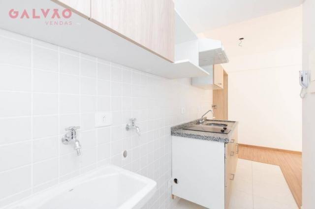 Apartamento com 1 dormitório à venda, 33 m² por R$ 238.156,90 - Centro - Curitiba/PR - Foto 7