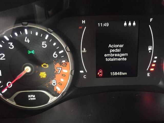 Jeep /renegade sport MT categoria partic de cor vermelha quitado,(15848) km - Foto 6