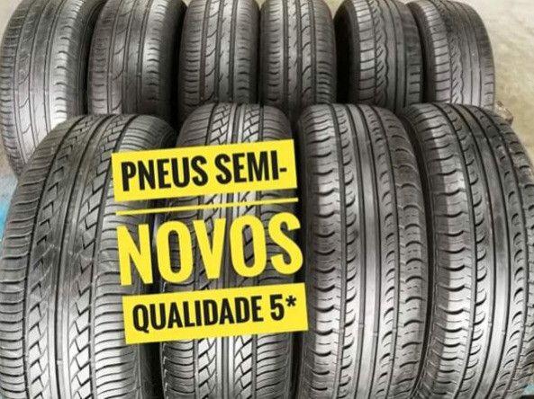 ?pneus semi novos 245/35-20 - Foto 20