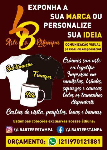 Impressão cartão, banner, panfletos, camisas, canecas, sublimação e brindes em geral