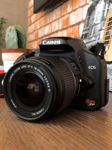 Câmera Fotográfica Dslr Cânon Rebel XSI Campo Grande - Foto 2
