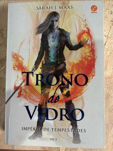 Livros- Box Trono de vidro  - Foto 5