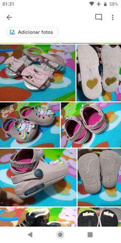 Calçados Bebê Menina 17 ao 21