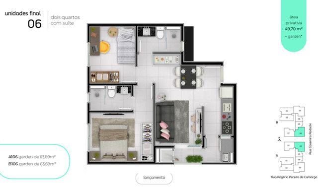 Apartamento de 2 quartos de alto padrão - 200 metros da Universidade Positivo :) - Foto 3