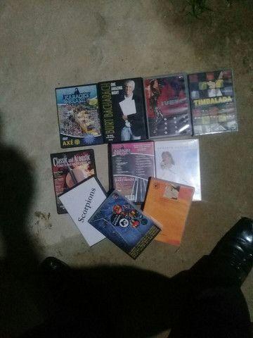 CDs e DVDs de Música e Filmes variados  - Foto 3