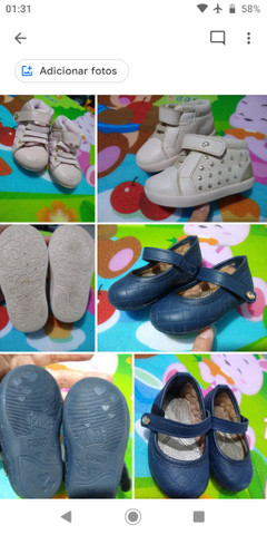 Calçados Bebê Menina 17 ao 21 - Foto 4