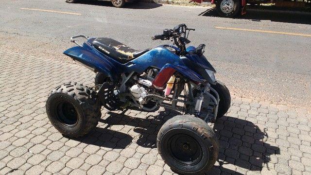QUADRICICLO KENTON 200CC 4T, VENDO O MOTOR E TODOS OS ACESSÓRIOS.