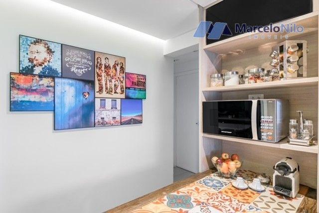 Apartamento  nos Aflitos, 75m2, 3 quartos, 2 suítes, 2 vagas soltas e mobiliado - Foto 12