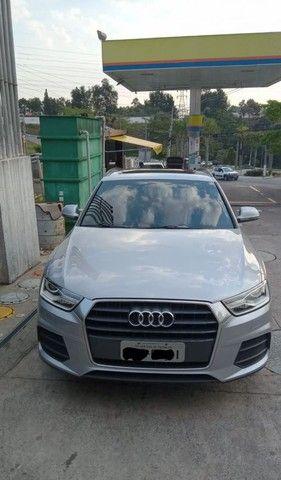 Audi / Q3 - Ambiente c/ Teto Solar Panorâmico muito nova - Foto 13