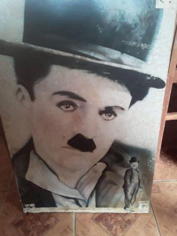 Coleção Chaplin Vídeo Cassete Quadros - Foto 4