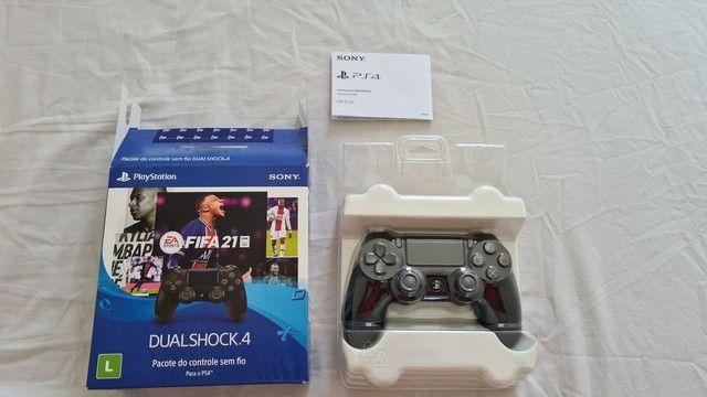Controle Dualshock 4 Original Novo - Foto 2