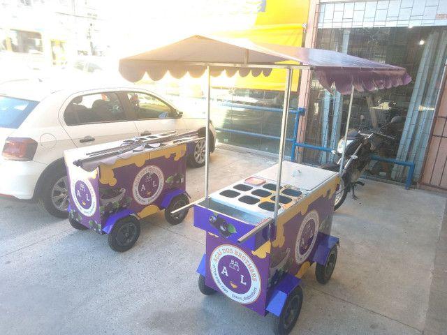 Aluguel de carrinho de açaí. - Foto 3