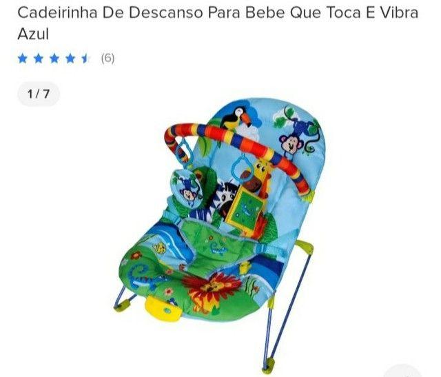 Vendo cadeirinha de descanso para bebê  - Foto 2