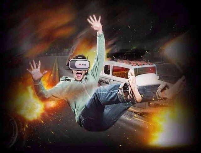 Óculos de realidade virtual 3D VR Box para Smartphone! - Foto 2