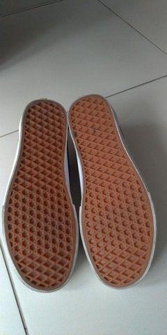 "Tênis Vans ""off the Wal"" old shcool - Foto 5"
