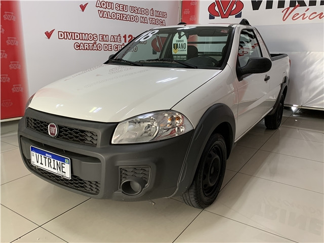 Fiat Strada 2018 1.4 mpi hard working cs 8v flex 2p manual - Foto 4