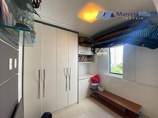 Apartamento  nos Aflitos, 75m2, 3 quartos, 2 suítes, 2 vagas soltas e mobiliado - Foto 18